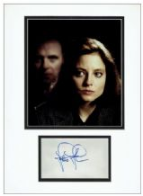 Jodie Foster Autograph Signed